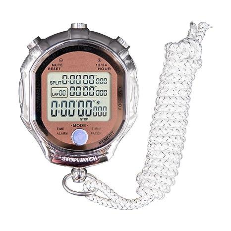 1/1000 deporte cronómetro Digital, pantalla segundos precisión ...