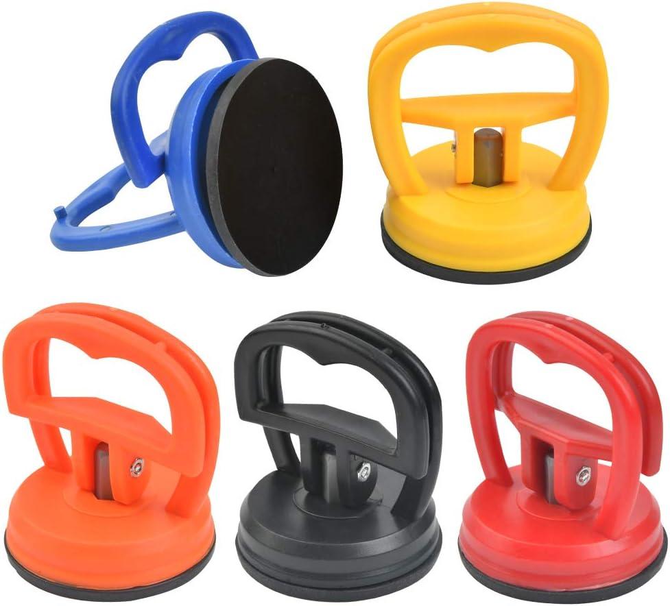 POKIENE Ventosa de Cuerpo 5 Pzs, Ventosas de Reparación de Plástico, Ventosa de Automóviles, Mini Extractor de 55 Mm, Fuerza de Succión de 15 Kg; para Teléfono de Reparación Electrónica de Automóviles