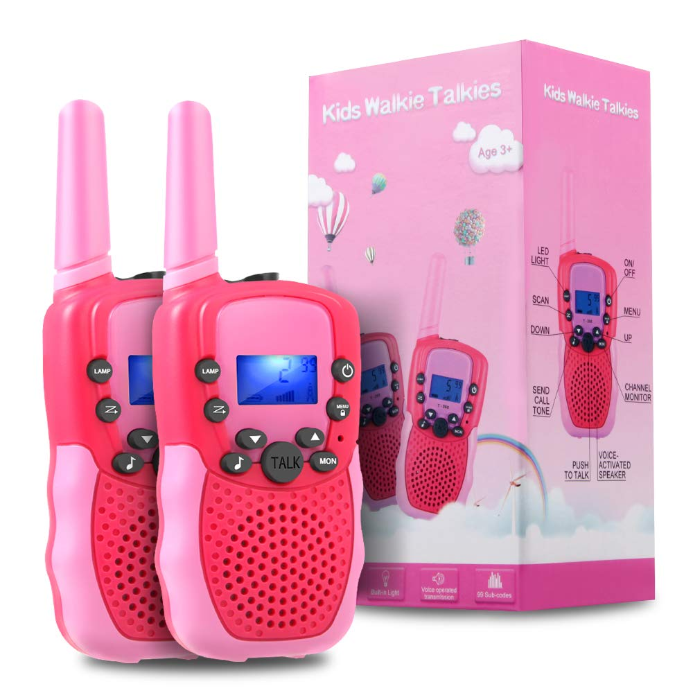 OMWay Outdoor Toys for Toddlers Age 3-5, Kids Walkie Talkies for Girls Age 3-8,2 Way Radio Walkie Talkies,3-12 Year Old Boys Girls Birthday Gifts. by OMWay (Image #1)