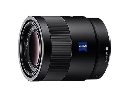 f02ddb1e5a Amazon.com : Sony 55mm F1.8 Sonnar T FE ZA Full Frame Prime Lens ...