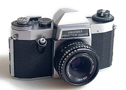 Amazon.com : hanimex praktica nova 1b 35mm film slr camera w 50mm f2