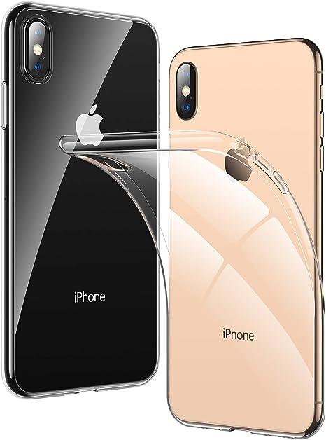 custodia iphone xs trasparente