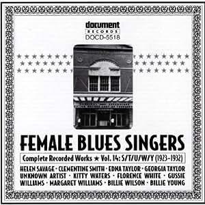 Various - Female Blues Singers Volume C/D (1924-1928)