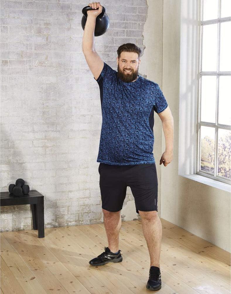 kurz mit Taschen Plus Size + Crivit/® Herren Sportshorts Sporthose ++