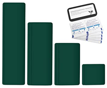 Zelt Planen Reparatur Easy Patch comfort 100 Grau Selbstklebend 10 Teile Tape