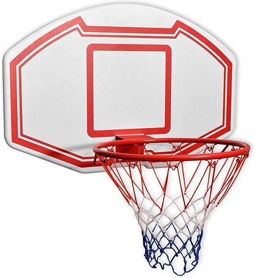 ghuanton Set de Canasta de Baloncesto de Pared Tres Piezas 90x60 ...