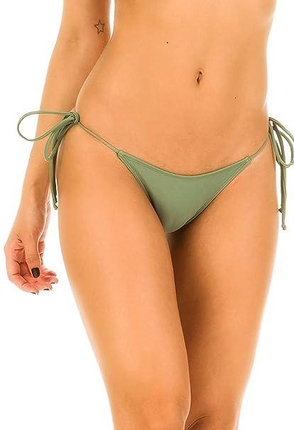 Amazon.com: Coqueta Swimwear braga tipo microtanga de bikini ...