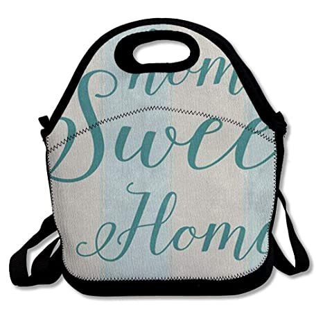 Amazon com: Lunch Bag Tote Bag Home Sweet Provence