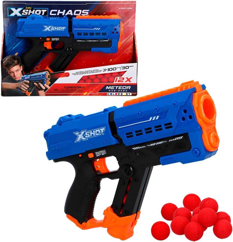 X-Shot - Pistola de bolas gomaespuma Meteor Blaster X-Shot Chaos (46274)