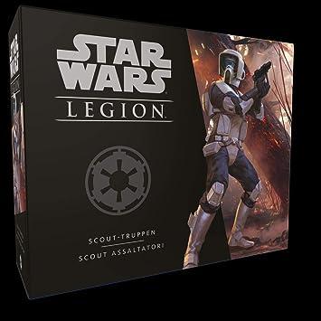Asmodee Italia Star Wars: Legion-Scout Assaltadores expansión Juego de Mesa, Color, 10214: Amazon.es: Juguetes y juegos