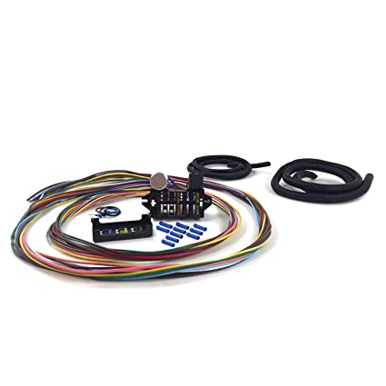 keep it clean wiring accessories kica331c2 ultimate 12 fuse '12v  conversion' wire harness 46
