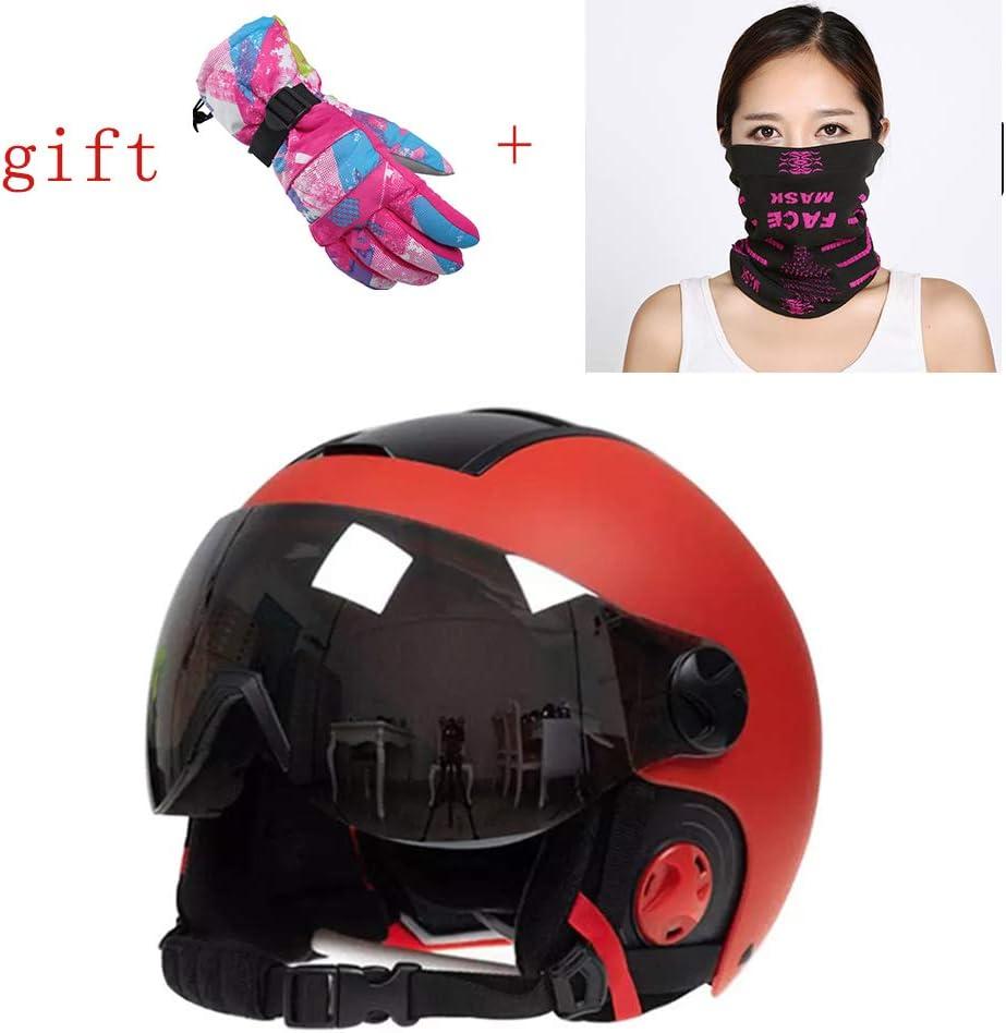 Smx Open Face Helmet Woman Scooter Motorcycle Helmet Snowboard Helmets Wear Cold Mask And Warm Gloves Ece D O T Standard Unisex Harley Helmet M Amazon Co Uk Kitchen Home