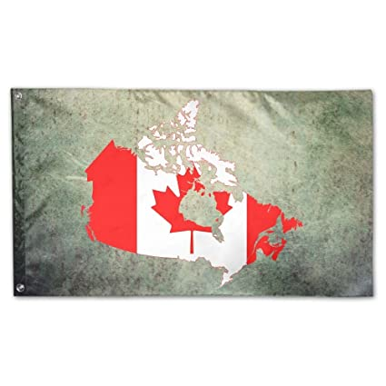 Amazon Com Sirlvlay Canada Flag Garden Flags 3 X 5 In