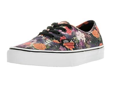 69d4262fbc Vans Unisex Authentic (Galaxy Floral) Blk Tr Wht Skate Shoe 4.5 Men US