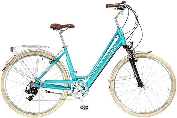 Allegro Invisible City Light Bicicleta eléctrica, Mujer, Azul ...