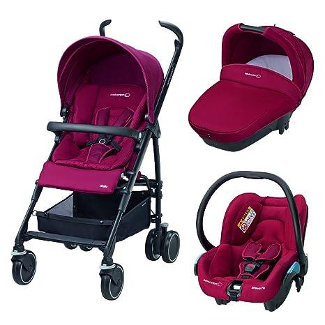 Bébé Confort Maia Access - Cochecito trío, color rojo ...