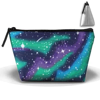 CHC40 Northern Lights Travel Kit Organizer Bathroom Storage Cosmetic Bag Carry Case Toiletry Bag