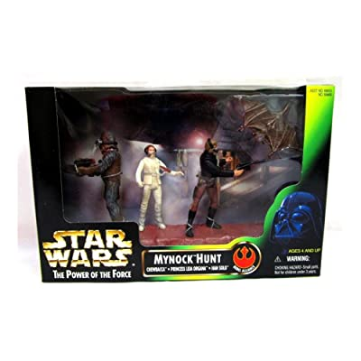 Star Wars - 1998 - Kenner - Power of the Force - Mynock Hunt Set - Rebel Alliance - w/ 3 Figures - Rare - New - Limited Edition - Collectible: Toys & Games