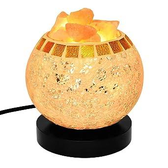 Asdlg LampLampe Avec Salt De Chevet Rose 100Cristal Himalayan nwOk0P