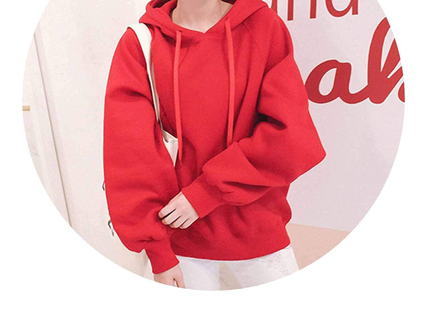 Winter Solid Cr Lantern SLE Hoodies Loose Thin/Thick Hooded Pullovers Warm S-XL at Amazon Womens Clothing store: