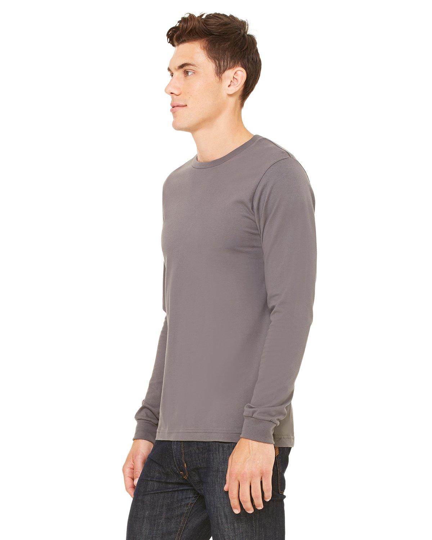 Asphalt Canvas 3501 Mens Jersey Long-Sleeve T-Shirt Small