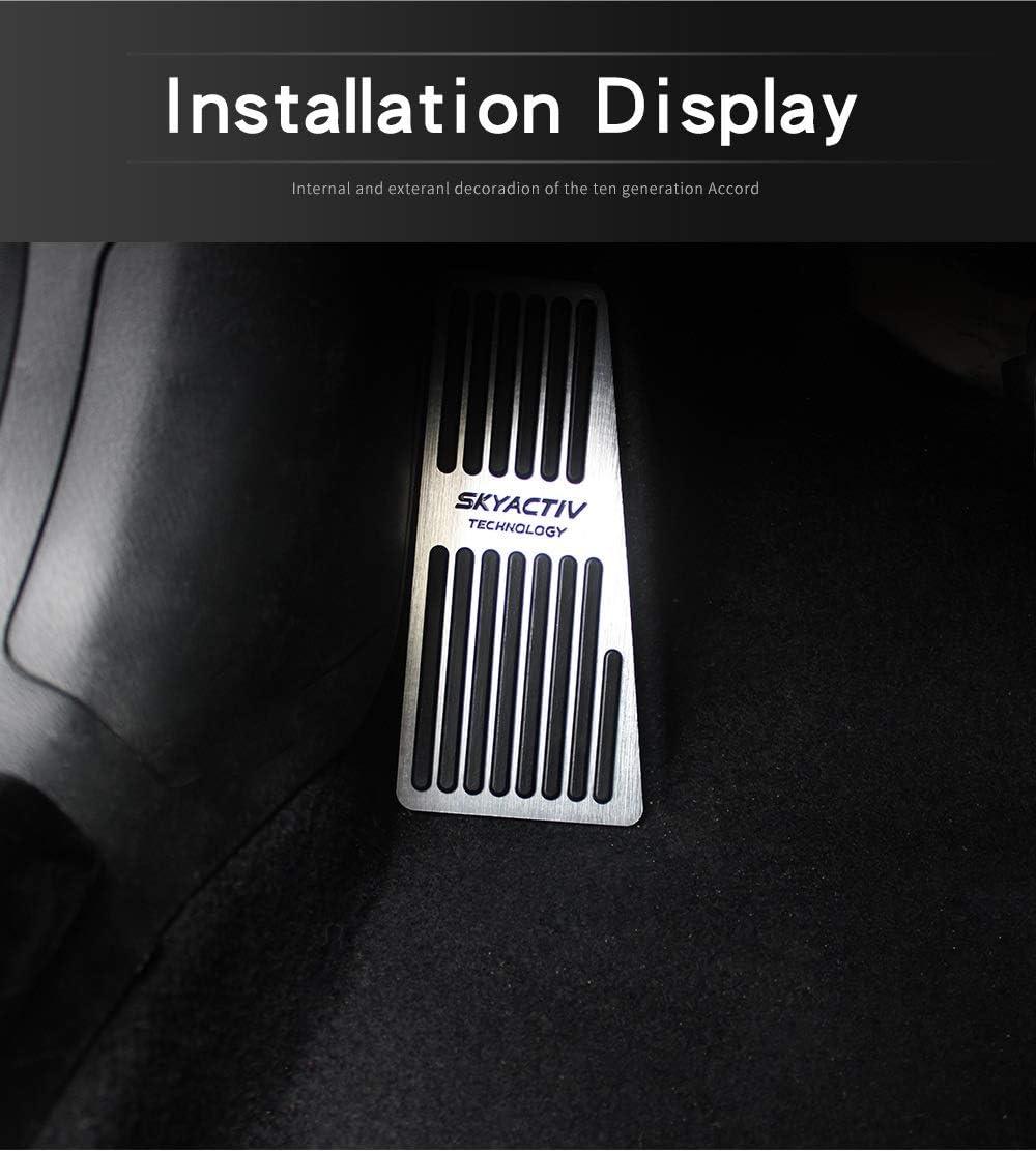 YJDTYM Auto-Bremsen-Kupplungs-Accelerator Pedal Fu/ßraste Pedalplatte Abdeckung//Fit for Mazda 3 6 CX5 CX5 CX-3-CX 7 CX-9 Fit for Axela atenza 2017 2018 2019 Color Name : LHD 1pcs