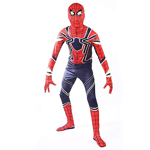 werty Cosplay Ropa Iron Spiderman Cosplay Disfraz Lycra ...