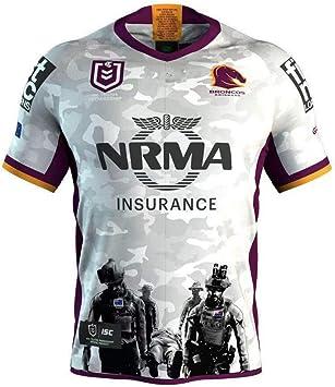 YHANS Camisetas de Rugby para Hombre,Camiseta de Rugby Polo de los ...