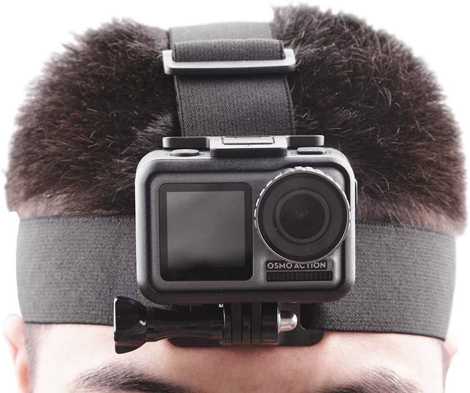 CMrtew Travel Starter Kit Head Strap Mount Belt Headband Holder for DJI OSMO Action for GoPro Hero Camera