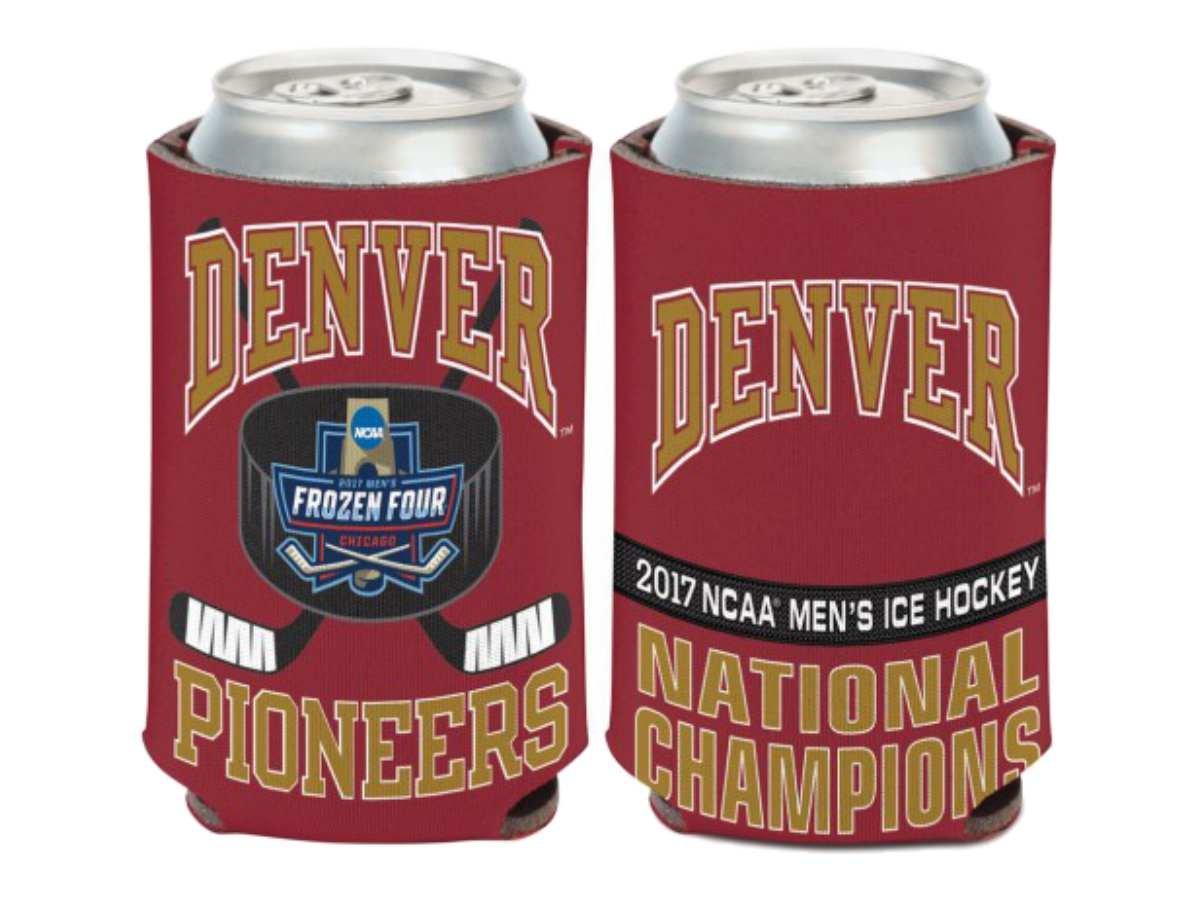 Denver Pionniers 2017championnat NCAA de hockey sur la Reine des neiges quatre Champions Peut Cooler