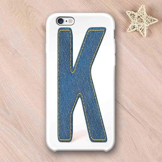 Amazon com: Letter K Stylish Compatible with iPhone Case,Alphabet