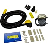 Flowbee System Sold Separately. Helps Make Using Your Flowbee System Even More Easy /& Convenient Than Before Flowbee Super Mini-Vac