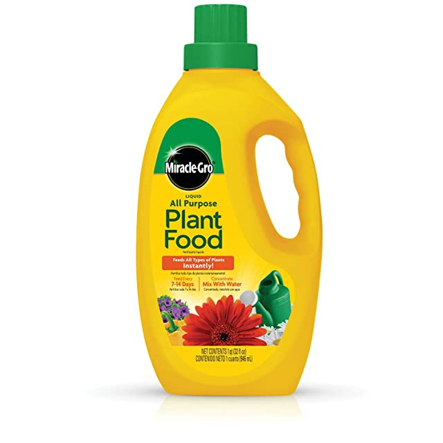 Miracle-Gro 1001502 Liquid All-purpose Plant Food Concentrate