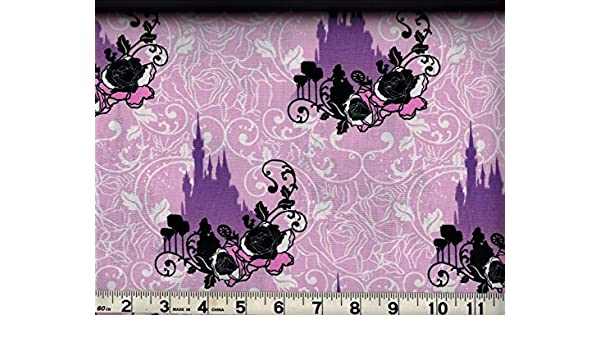 Amazon Com Cotton Fabric By The Yard Disney Maleficent