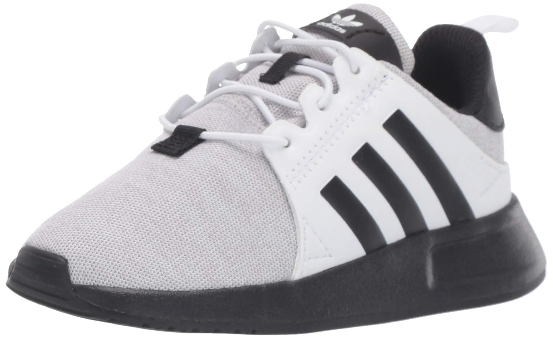 adidas Originals Baby X_PLR Running Shoe, Light Grey Heather/Black/White, 7K M US Toddler
