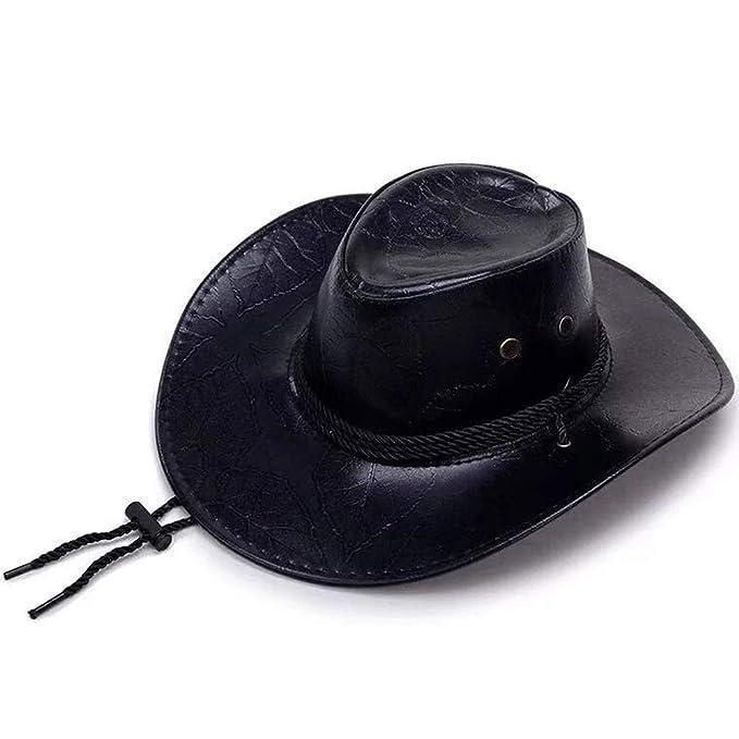 6885d77f433cf Red Dead Redemption 2 Sombrero Cosplay Cowboy Punk Sombreros Morgan Cos  Western Vintage Cap Costumes  Amazon.es  Ropa y accesorios