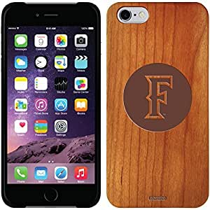 fashion case iphone 5s Madera Wood Thinshield Case with Cal State Fullerton Circle F Design