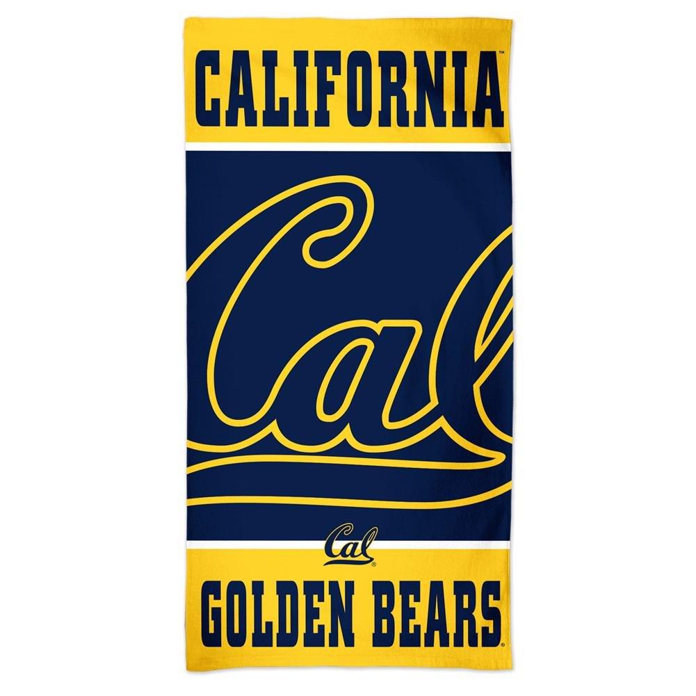WinCraft Cal Berkeley Golden Bears Beach Towel 30 x 60 Spectra Beach Towel