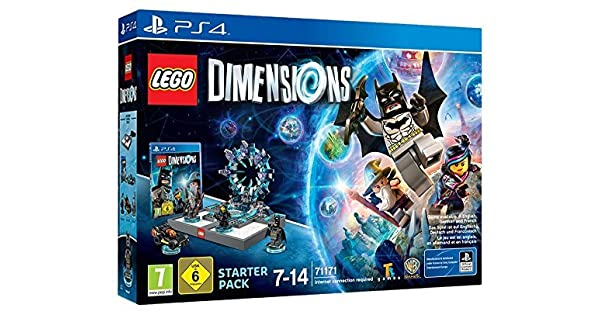 LEGO Dimensions: Starter Pack (PS4) by Warner Bros. Interactive ...