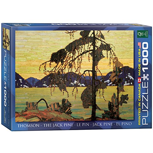 EuroGraphics Jack Pine by Tom Thomson 1000 Piece Puzzle