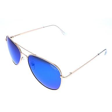 dfb60734a VertX Men's Polarised Aviator Sunglasses Classic Teardrop Color Mirror -  Blue Lens: Amazon.co.uk: Clothing