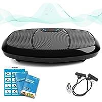 Bluefin - Accessoire de Fitness, Plateforme Vibrante 3D à Double Moteur - Oscillation et Vibration - Machine d'entretien de Forme Physique, Perte de Graisse Ultime