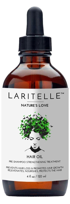 Laritelle Organic Hair Loss Prevention for Men and Women, Strengthening and Rejuvenating Follicle Fuel, Prevents Hair Shedding, Promotes Hair Growth, Rosemary, Ginger, Grapefruit, NO GMO, Vegan, 4 oz HO4