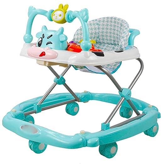 A~LICE&BW Andador para bebés, multifunción con Ruedas ...