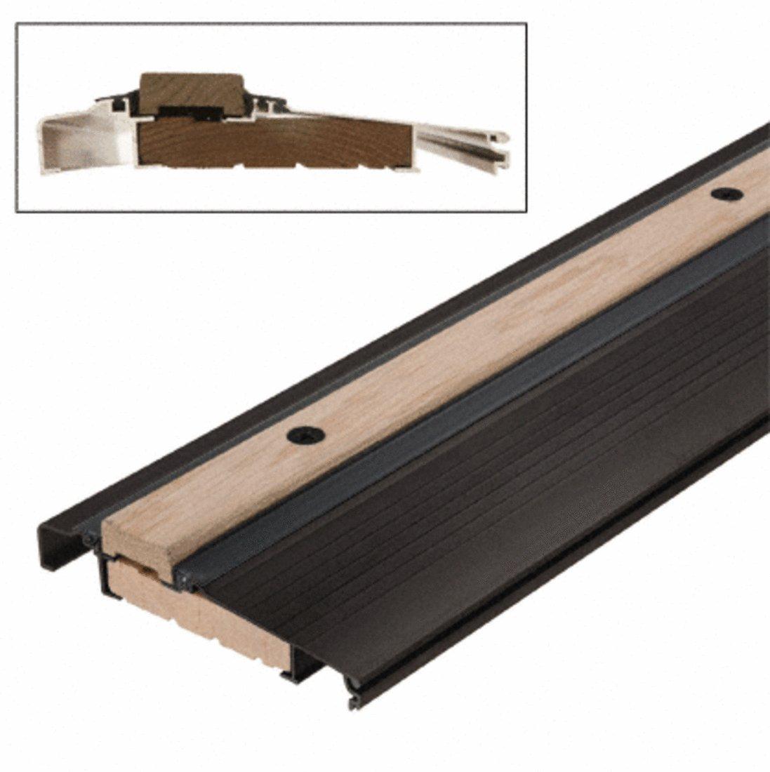Bronze 36'' Outswing Adjustable Oak Top Threshold