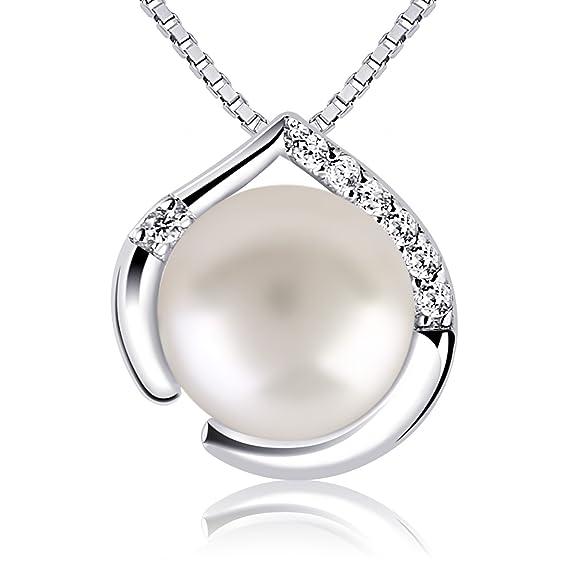 10 opinioni per B.Catcher Collana in argento per donna. Gioielli in argento 925 e perla d'acqua