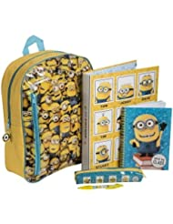 Despicable Me Minions Filled Stationery Set Backpack