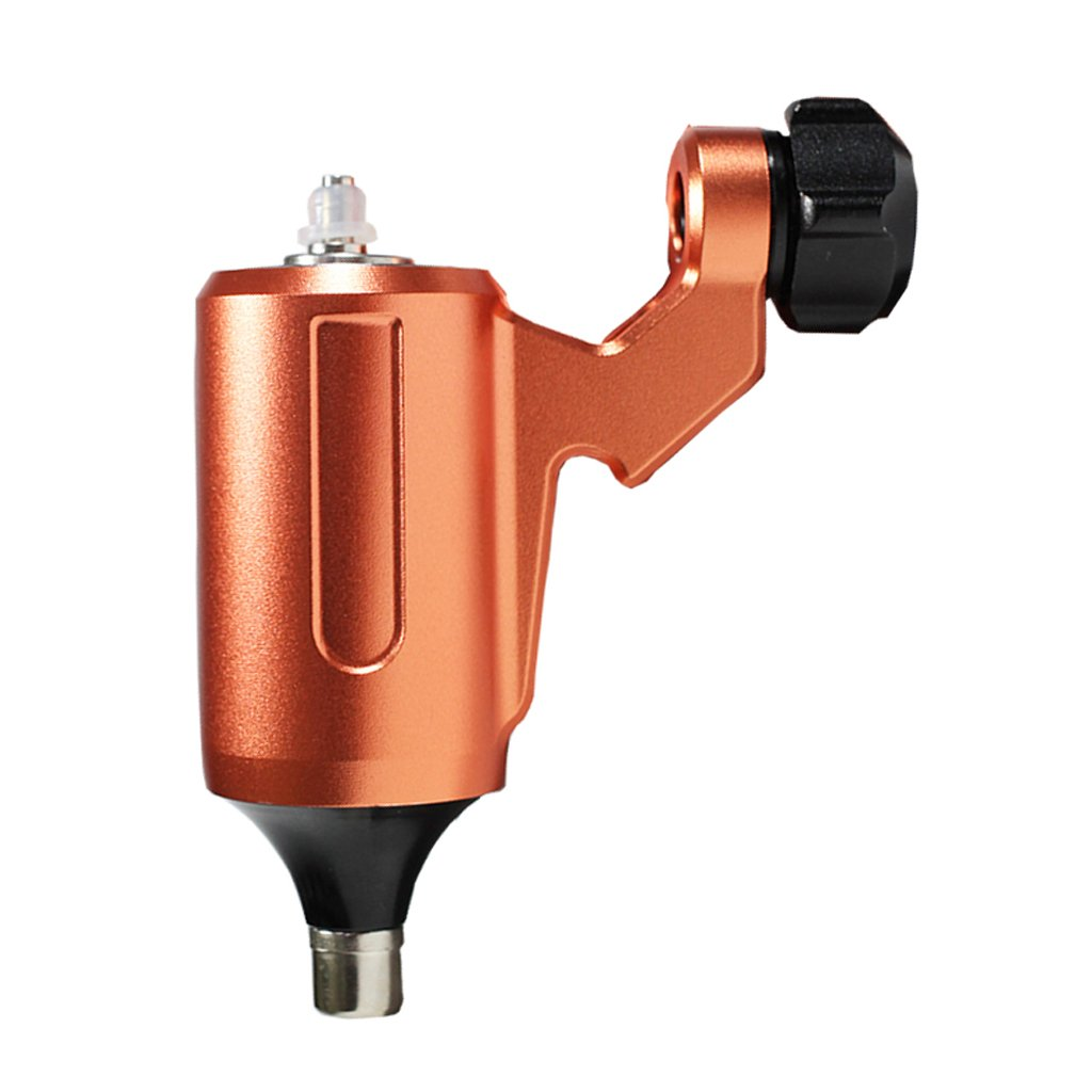 Baoblaze Máquina Rotatoria de Trazador de Líneas de Tatuaje Profesional de Aleación de Aluminio - Naranja
