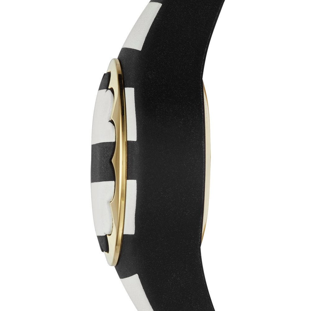Kate Spade New York black and white stripe scallop activity tracker by Kate Spade New York (Image #3)