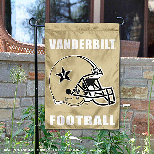 College Flags and Banners Co. Vanderbilt Commodores Football Helmet Garden Flag